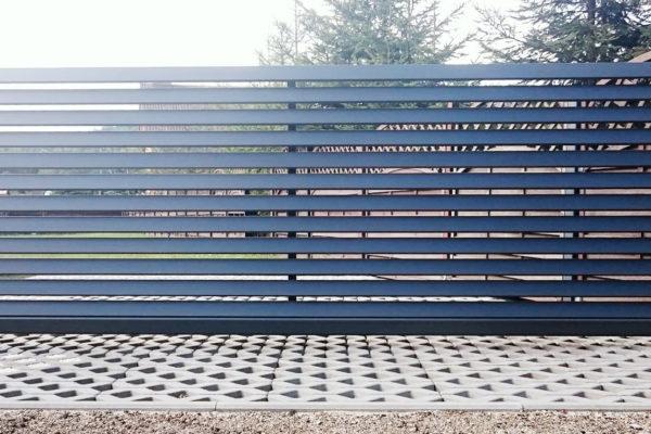 Brama wjazdowa aluminiowa